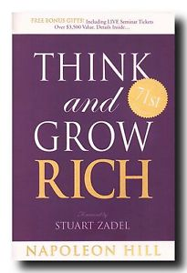 Think and Grow Rich - My favourite inpsiration book