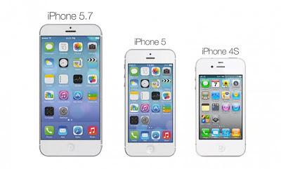 Concepto de iPhone de 5.7 pulgadas