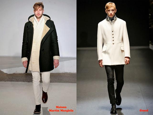 Tendencia otoño_invierno 2013-14 blanco y negro: Maison Martin Margiela y Gucci