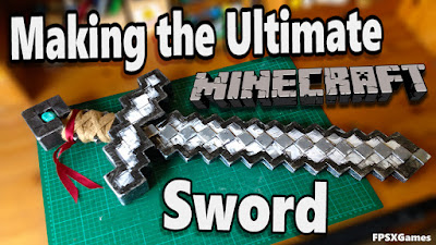 Making the best ultimate minecraft sword tutorial