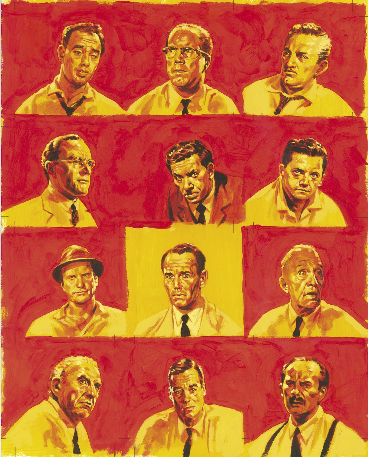 an analysis of the positions taken based on prejudice in the twelve angry men