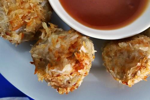 Picture of sweet breadfruit dumplings