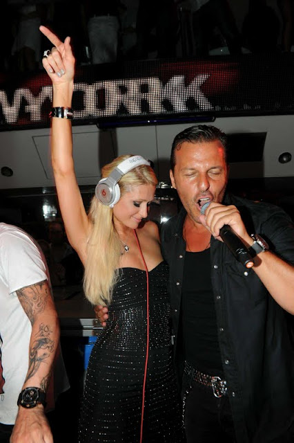 Paris Hilton at VIP Room in Saint-Tropez