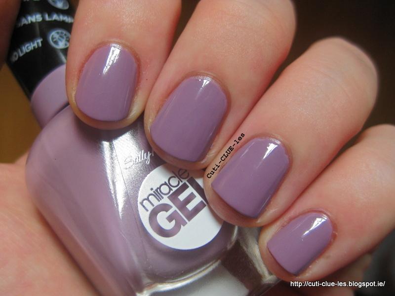 Cuti-CLUE-les: Sally Hansen Miracle Gel vs Essence Gel nails at ...