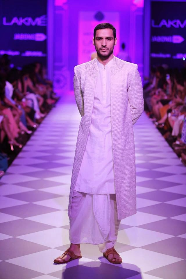 Anita Dongre's collection on the Ramp at Lakme Fashion Week Winter Festive 2014