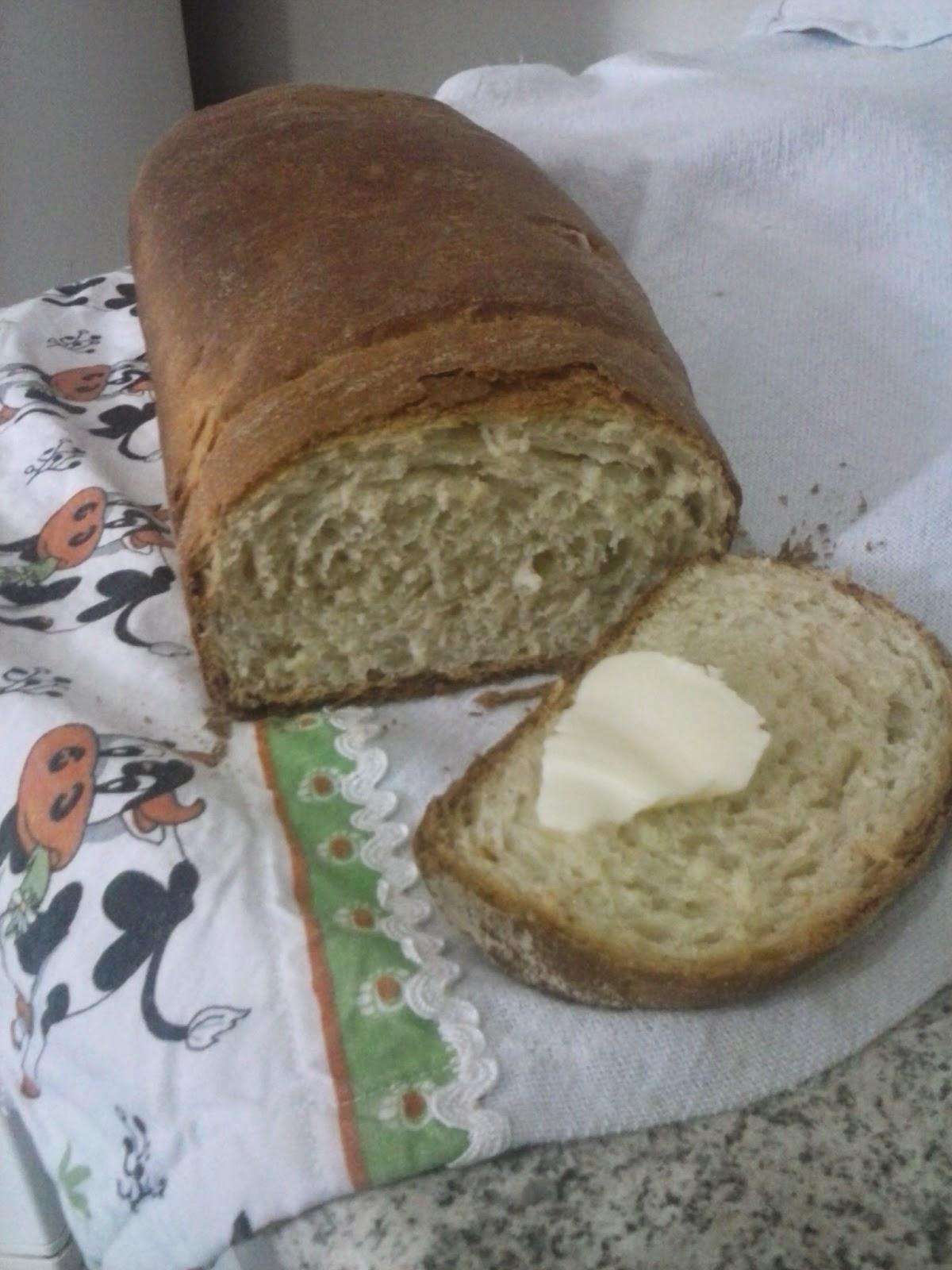 Pão Caseiro - Blog da Gi