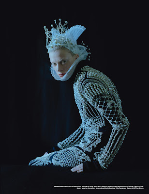 Kristen McMenamy by Tim Walker for W Magazine-9