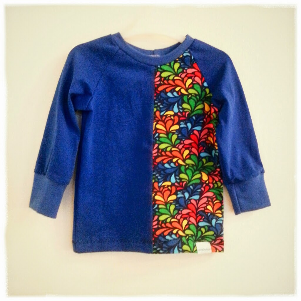 sy kläder av spillbitar jersey barnkläder