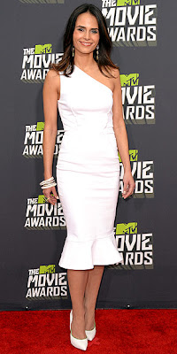 MTV movie awards, jordana brewster, red carpet, fashion