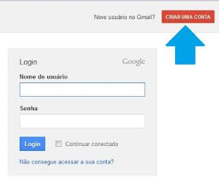 Criar conta no G-mail