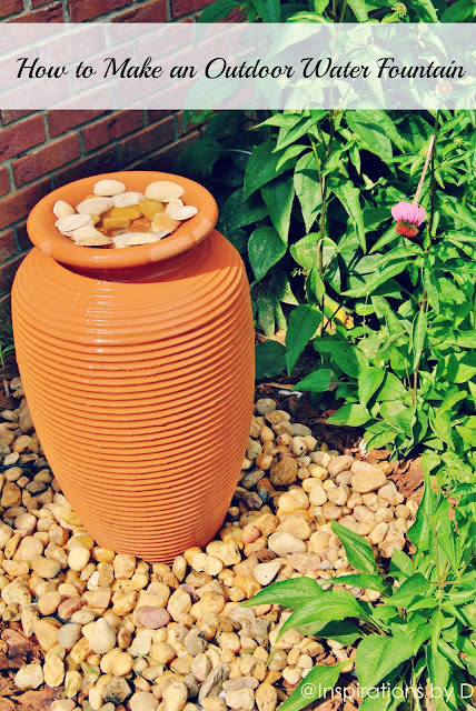 How to Make an Outdoor Water Fountain