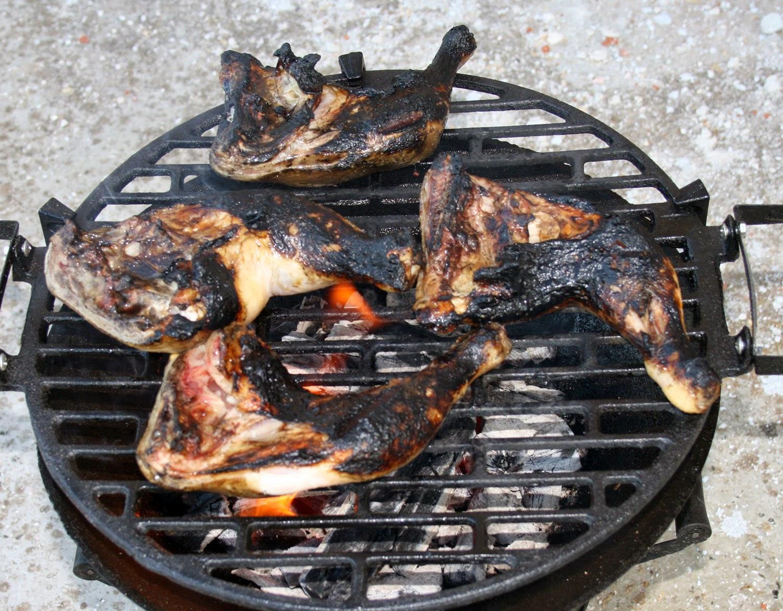 Chicken quite well done