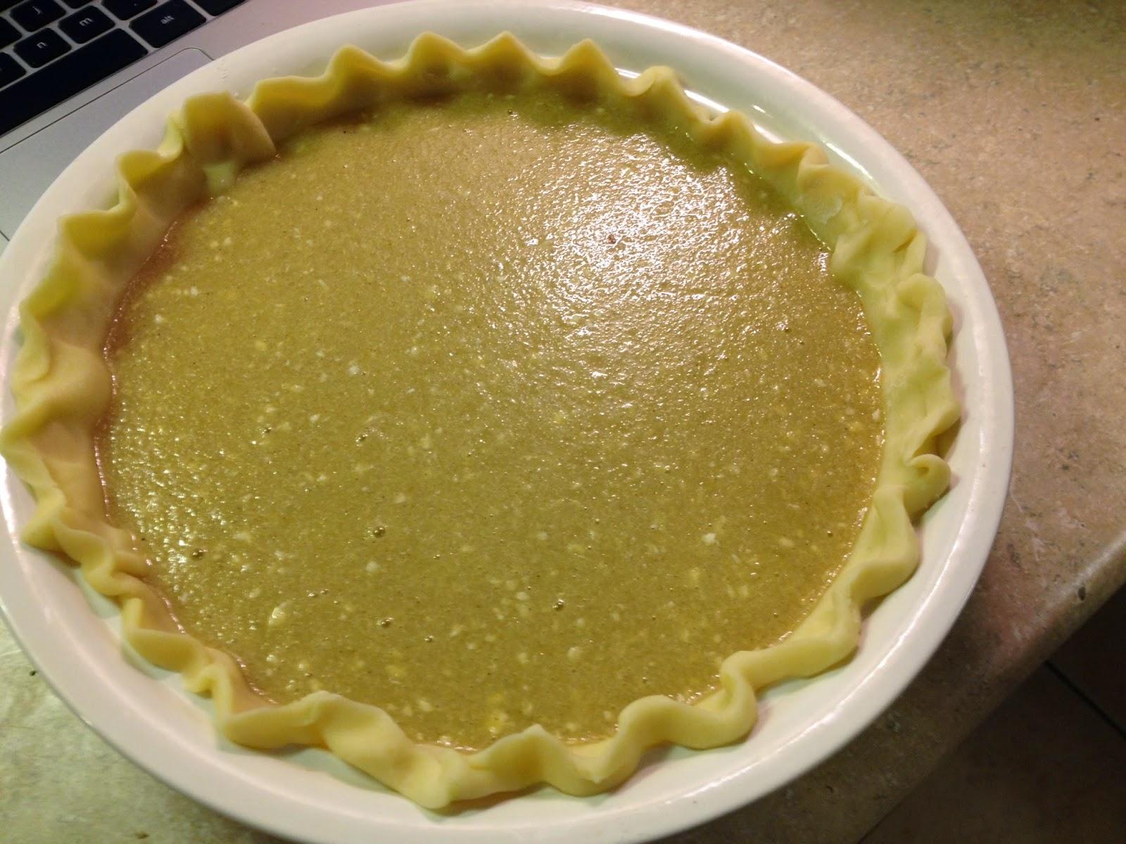 Brown Sugar Buttermilk Pie | 42nd Recipe Street
