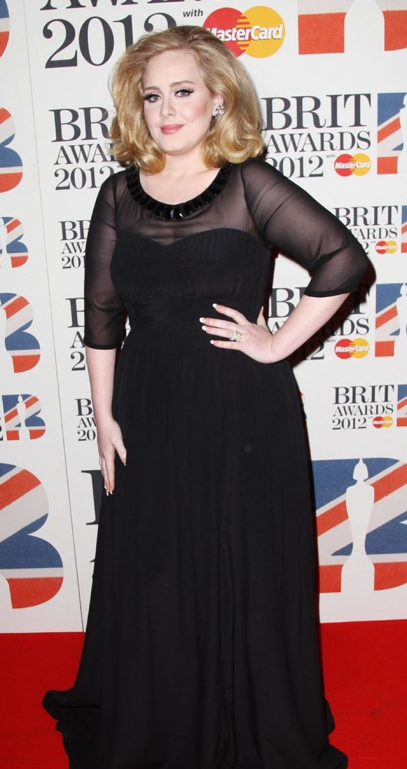 Adele @ 2012 Brit Awards, February 21