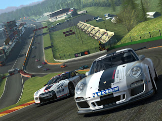 real racing 3 for iOS graphics