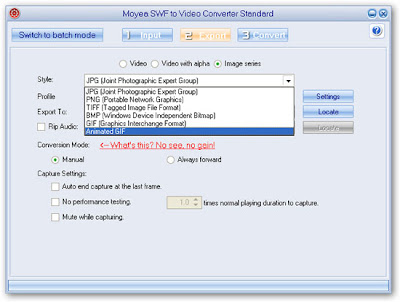 how to use swf converter