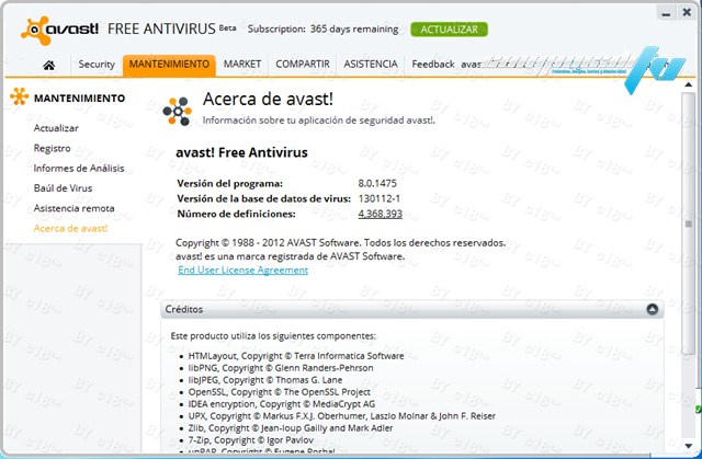 Avast Antivirus 8 Full Beta Español