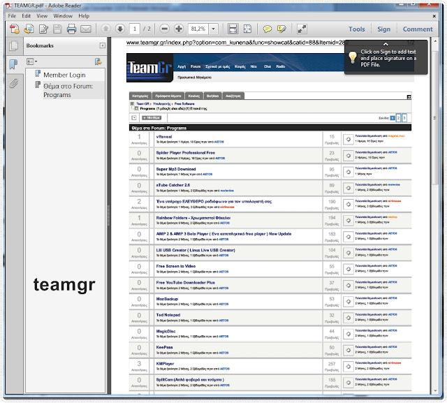converting website address to pdf