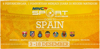 Jadwal Indonesia XI (Mitra Kukar) Goes to Spanyol 2013