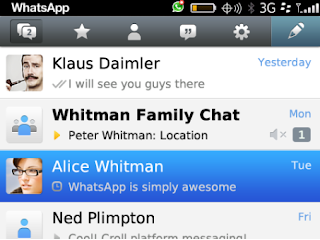 WhatsApp Messenger v2.9.2349 BlackBerry