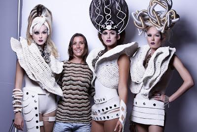 Time gaúcho de coiffeurs chama atenção em evento em São Paulo