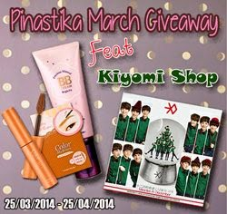 Pinastika March Giveaway