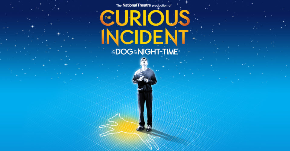 design concept in the show the curious incident of the dog in the night time 'curious incident of the dog in the night-time' to play at and extraordinary stage and video design by bunny over the show's.