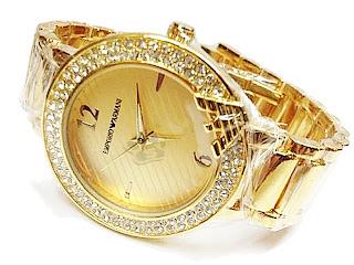 Jam Tangan Emporio Armani | wanita | Rantai | Murah | Grosir | Bulat