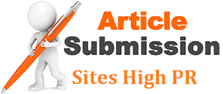 high pr article submission sites 2013