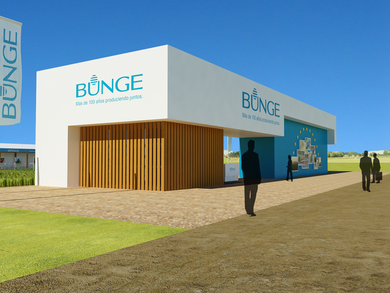 Expoagro Stands : Na renders nicolas ancona stand bunge para expoagro