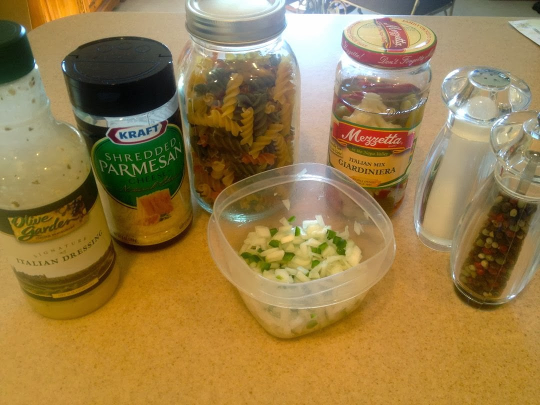 Simple Pasta Salad that\'s the Bomb! | theGREENhs