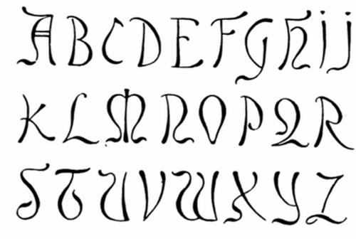 Graffiti Letters Symbol Font | Unique Graffiti Designs