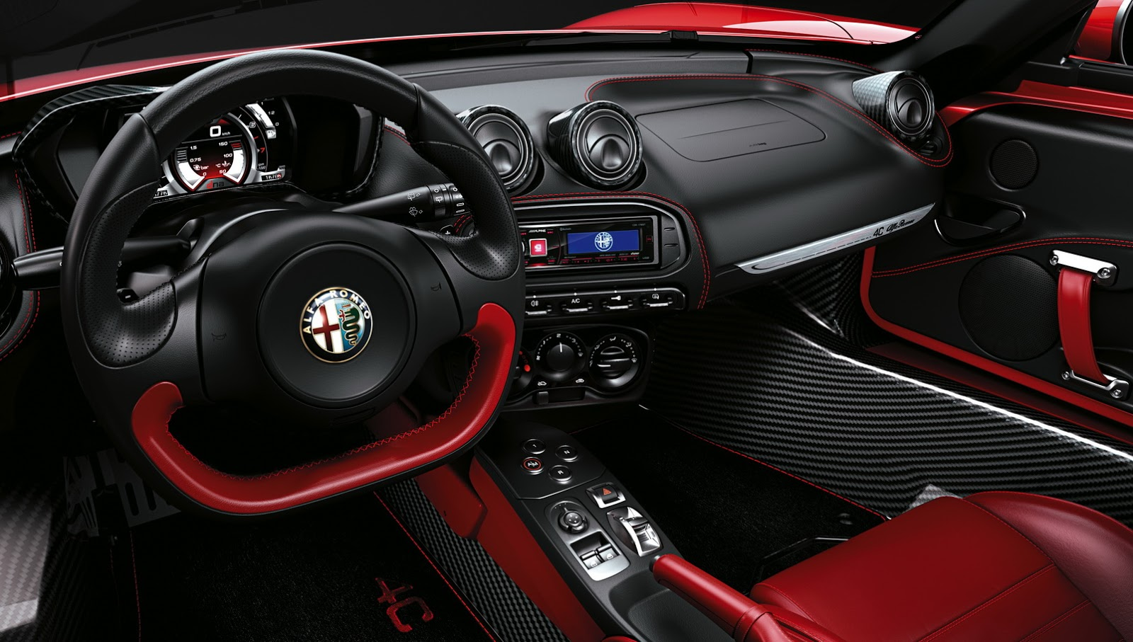 Alfa Romeo Opens Uk Order Book For 4c Spider Carscoops