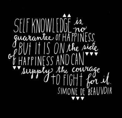 self knowledge 416 quotes have been tagged as self-knowledge: charlotte eriksson: 'you read and write and sing and experience, thinking that one day these things will b.