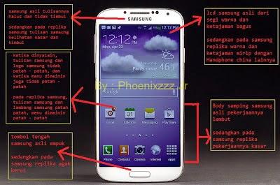 Tips Dan Trik Membedak HP Samsung Asli Dengan Replika