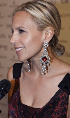 Tory Burch Diamond Chandelier Earrings