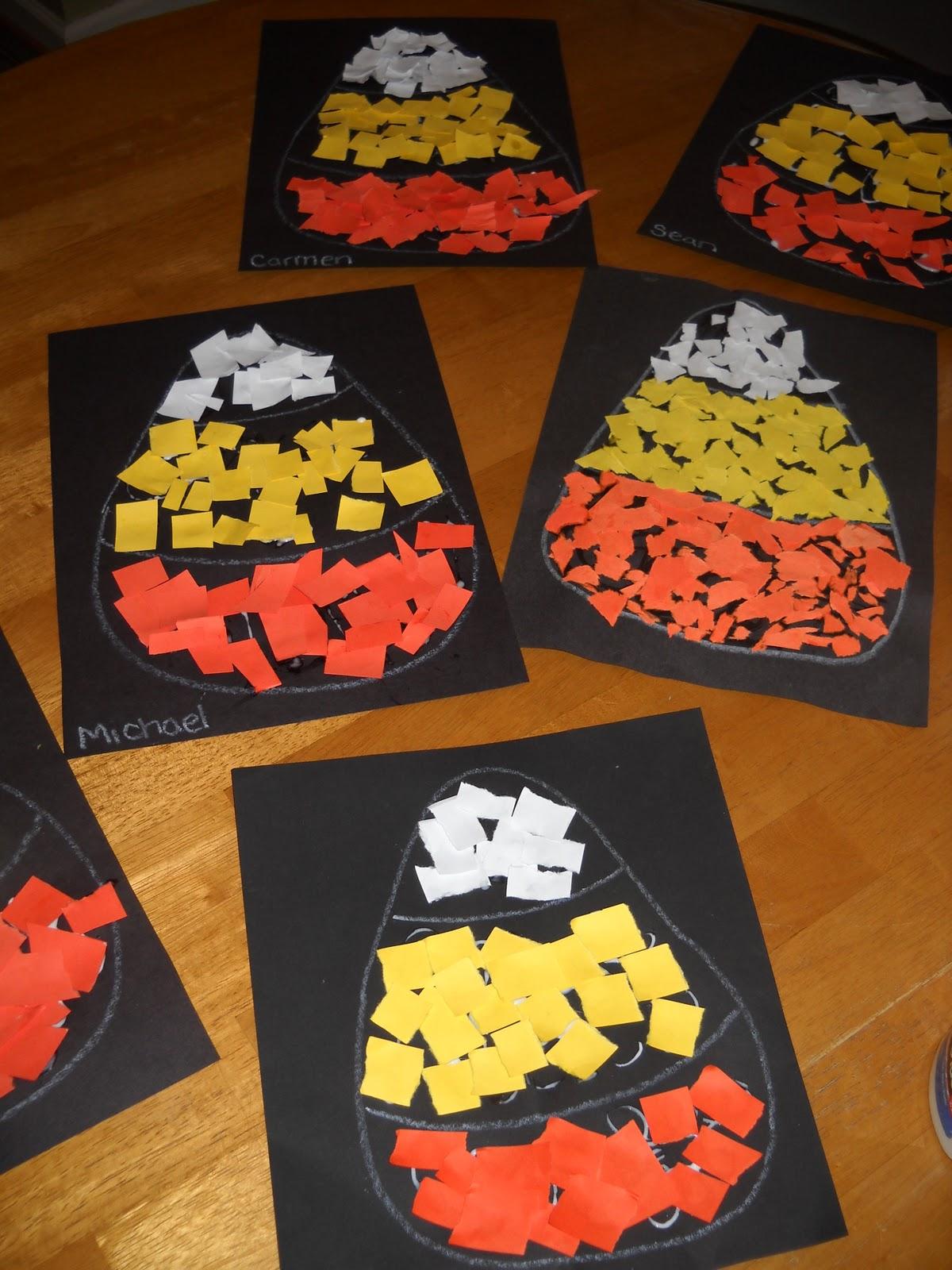 halloween art activities for elementary students. halloween crafts