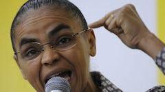Marina Silva ex-ministra do Meio Ambiente