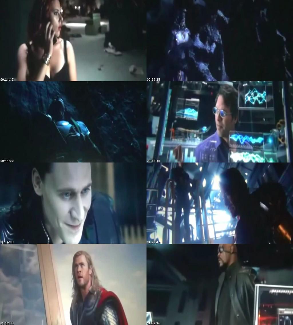 Los Vengadores (2012) [TScreener HQ] [Latino]