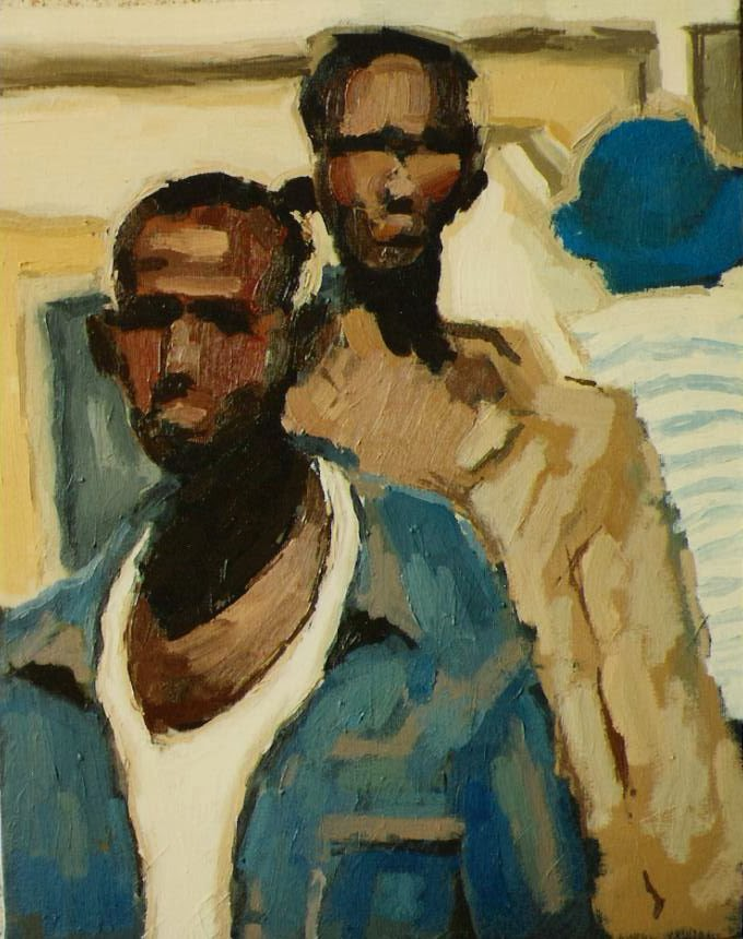 Favoloso Gianluca Salvati: un pittore figurativo a Caracas e dintorni QE22
