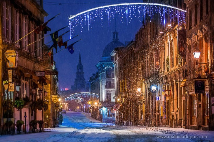 2. Montreal, Canada - Top 10 Most Wintery Cities