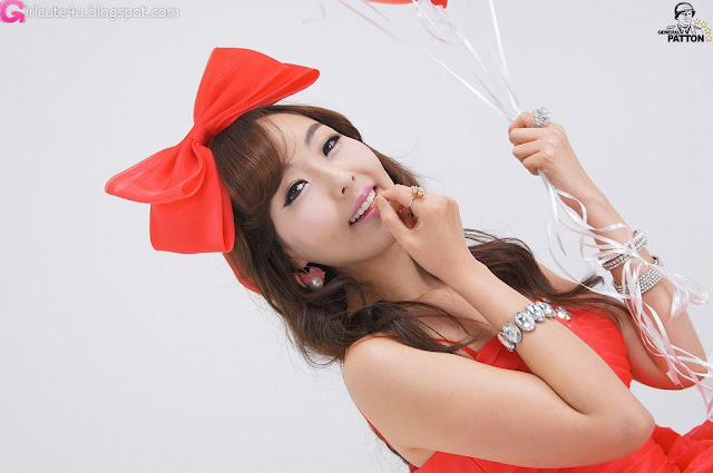 1 Heo Jung Hyun - Like a Rose-very cute asian girl-girlcute4u.blogspot.com