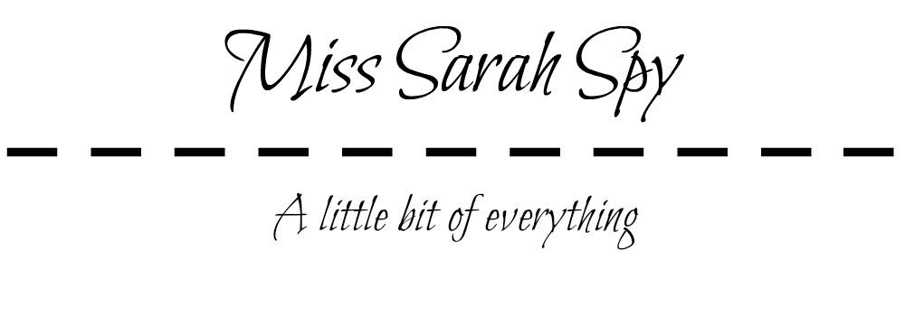 Miss Sarah Spy