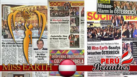 Prensa de Austria informa sobre Miss Earth 2015