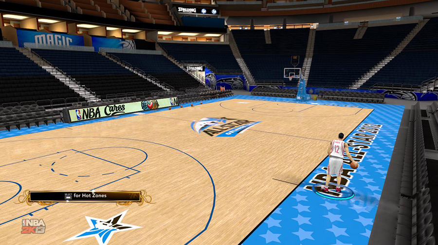 NBA All-Star Game Court