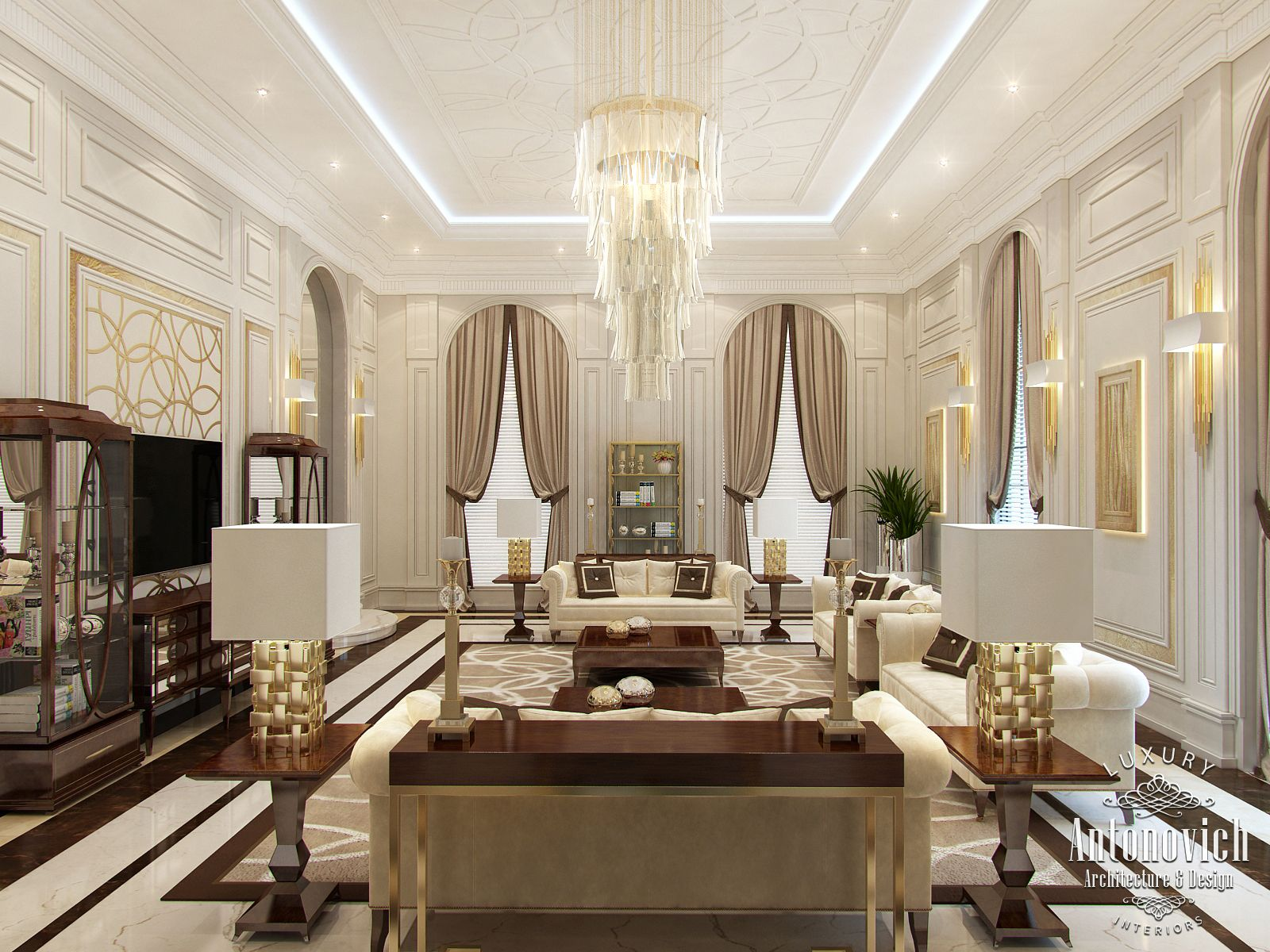Luxury antonovich design uae interior design dubai from luxury antonovich design - Luxury interior ...