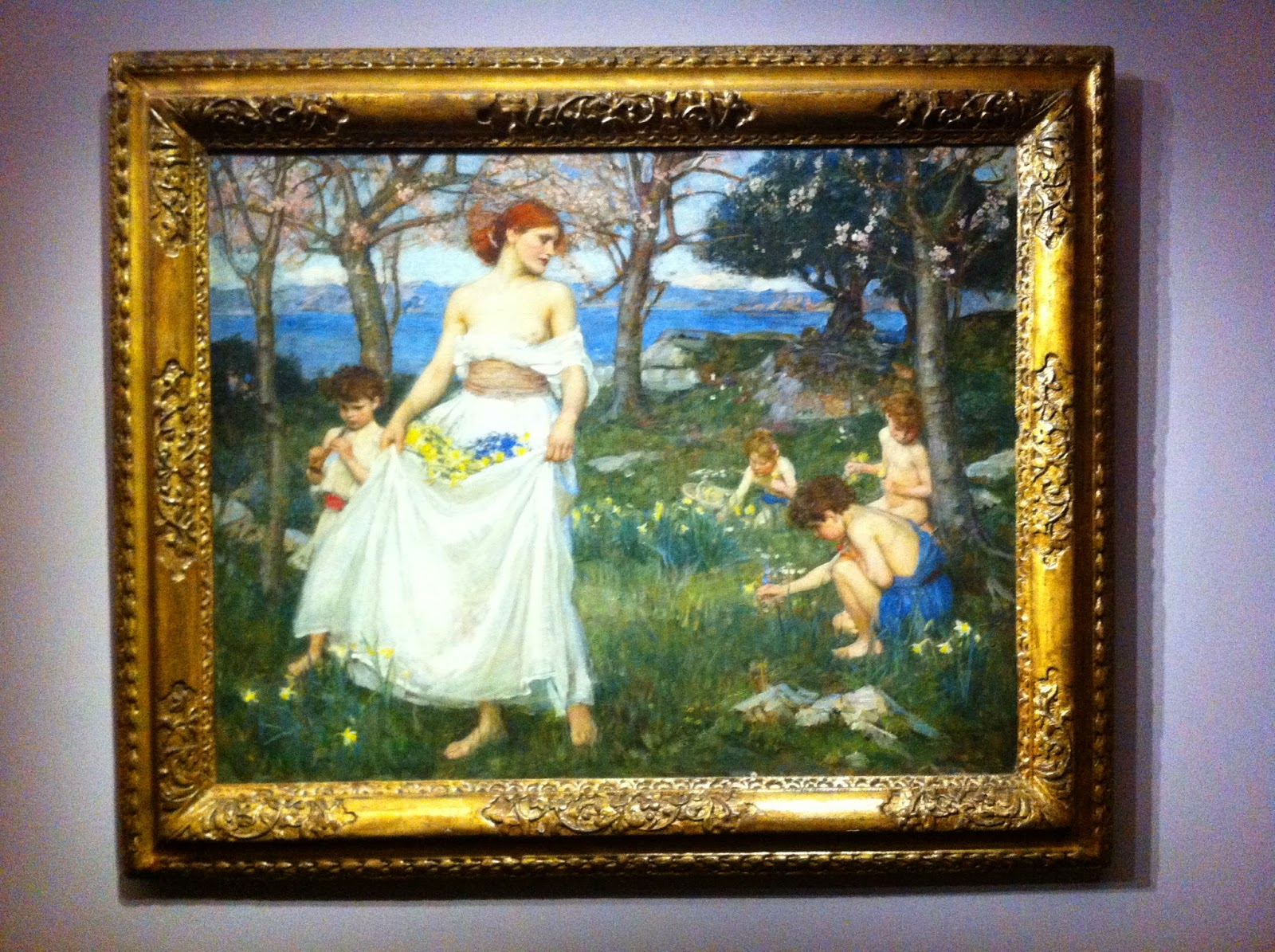 Waterhouse, Le chant du printemps