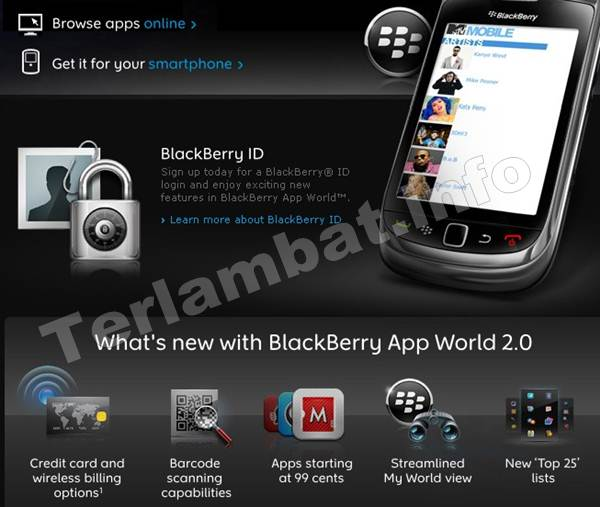 Download Aplikasi Blackberry Gratis Indonesia