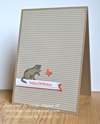 Card made with Storybook Friends from Stampin' Up