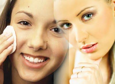 El maquillaje produce acné